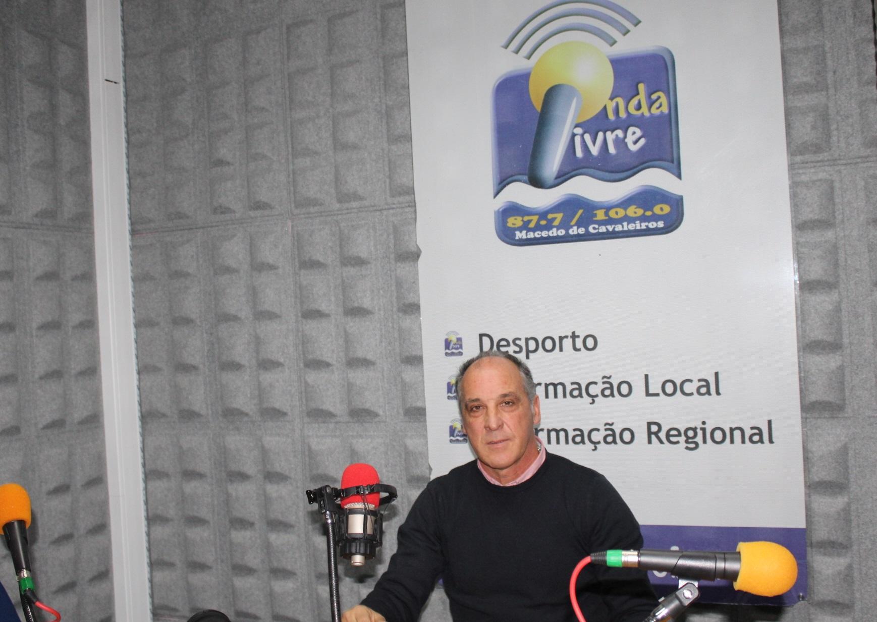 José Carlos Afonso dá entrevista alargada à Rádio Onda Livre