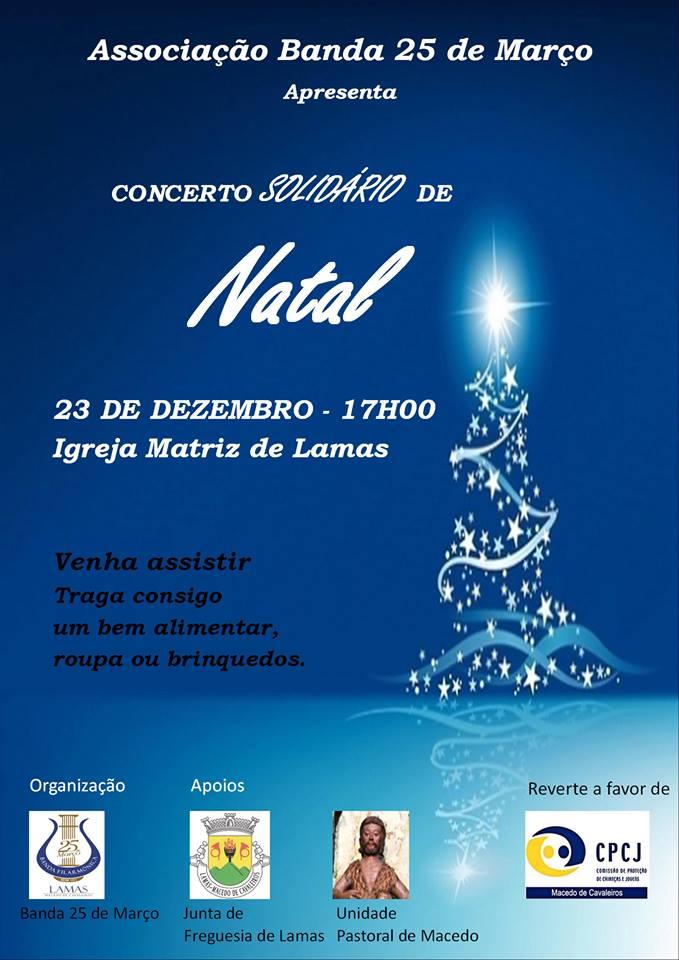 Banda 25 de Março promove concerto de Natal solidário este domingo