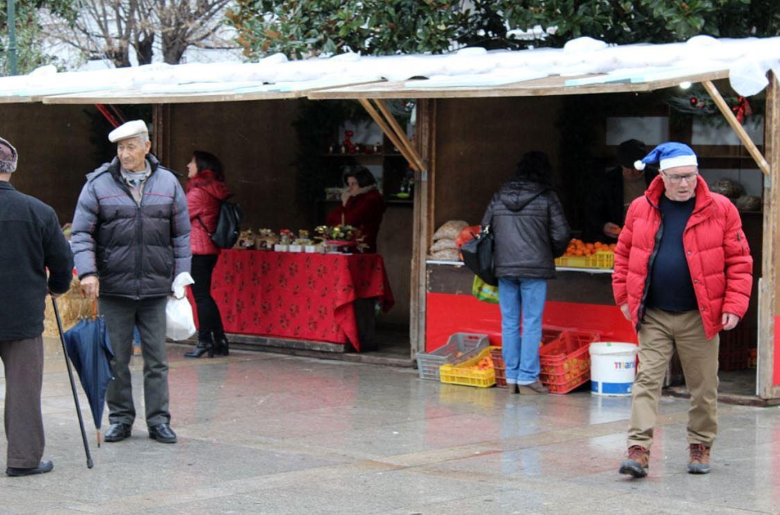 Mercado de Natal para visitar em Macedo até domingo