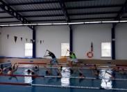 Gabinete de Desporto do Município Macedense promove mega sessão de hidroginástica