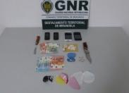 Cinco detidos por tráfico de estupefacientes no distrito de Bragança