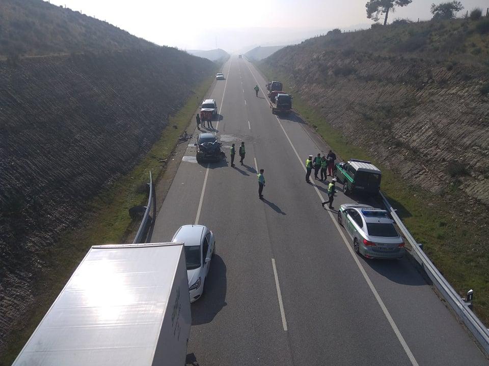 Colisão entre quatro veículos faz cinco feridos (variante Valpaços – Mirandela)