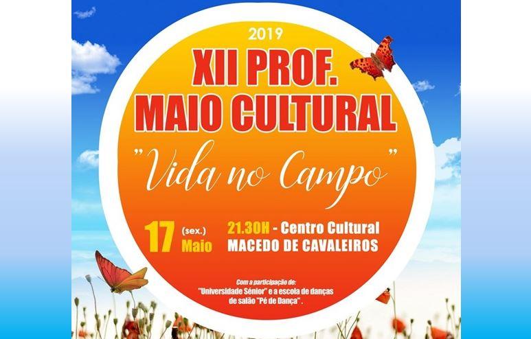 XII Prof. Maio Cultural junta música e dança esta noite no Centro Cultural de Macedo