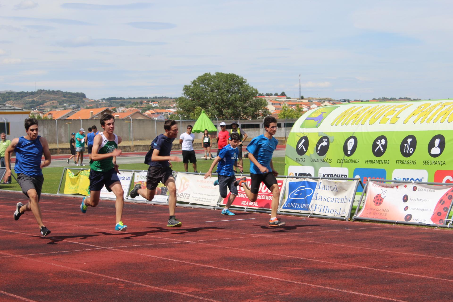 Macedo de Cavaleiros recebeu o II Campeonato de Trás-os-Montes e Alto Douro em Pista