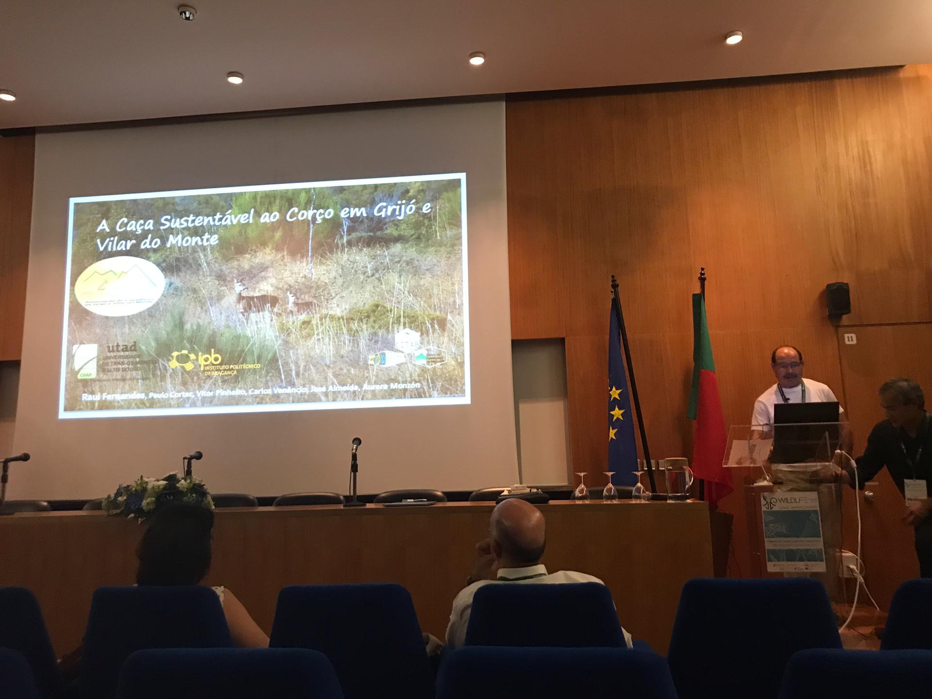 """Projeto """"A caça sustentável ao corço em Grijó e Vilar do Monte"""" distinguido com prémio"""