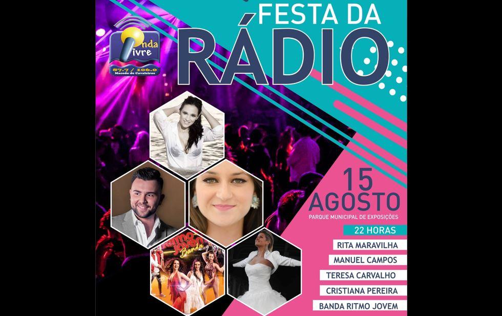 Esta noite, venha divertir-se connosco na Festa da Rádio Onda Livre