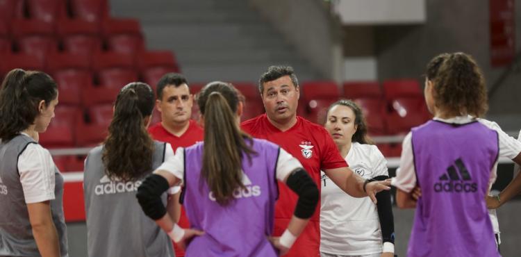 Equipa de futsal feminino do Benfica inicia hoje um estágio de pré-época em Vimioso