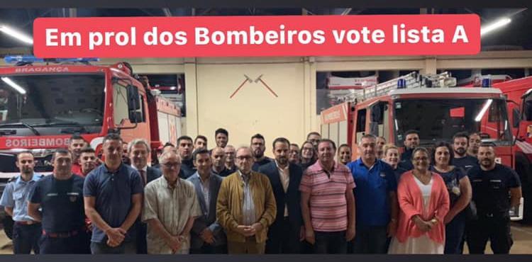 José Moreno é o novo presidente da Associação Humanitária dos Bombeiros de Bragança