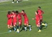 Seleção Nacional Sub-19 vence Itália por 1-0 esta tarde em Macedo de Cavaleiros