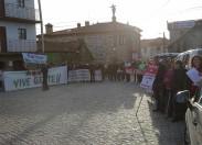 Populares protestam contra a exploração de lítio em Boticas e Montalegre