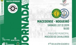 Macedense recebe Nogueiró e Tenões para o último jogo da primeira volta
