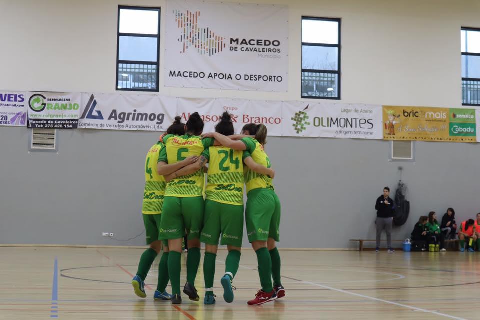 Equipa Feminina do Macedense termina fase regular em primeiro lugar e sem derrotas