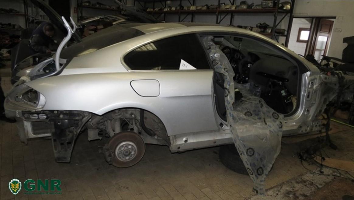 GNR de Miranda do Douro recuperou veículos e peças furtadas em Lourosa (Santa Maria da Feira)
