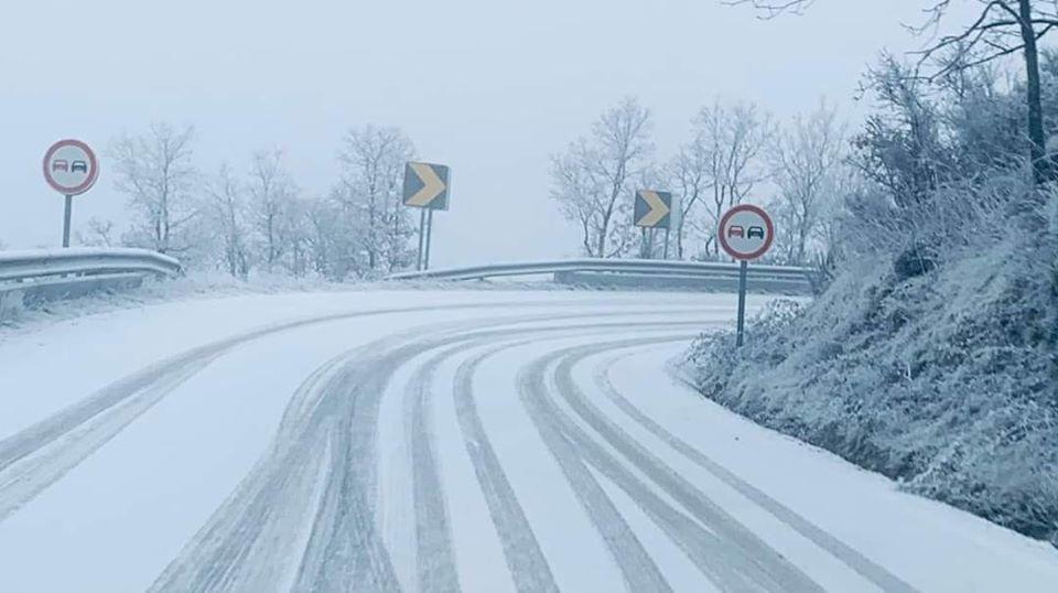 Gelo aumenta perigosidade em algumas estradas do concelho de Macedo