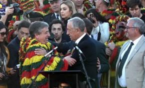 ONDA LIVRE TV - Marcelo Rebelo de Sousa inaugura Entrudo Chocalheiro 2020
