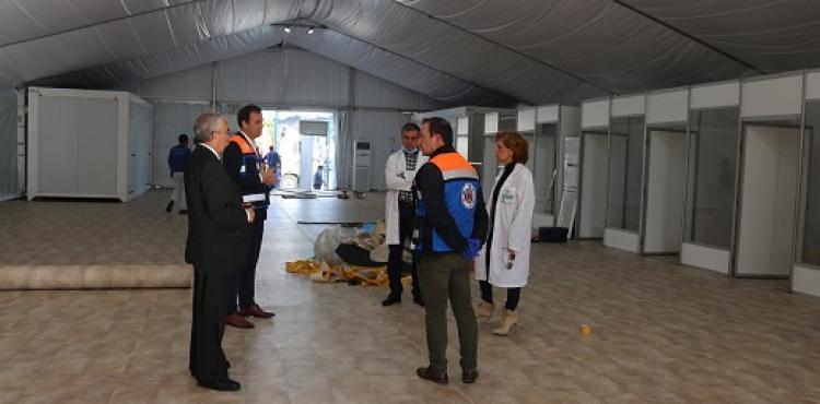 Hospital de campanha de Bragança deve começar a funcionar no final da semana