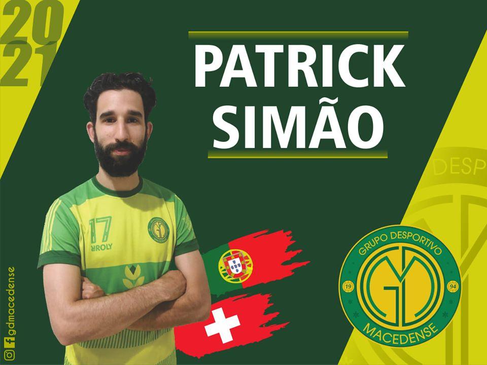 Patrick Simão renova com o Macedense para a próxima época