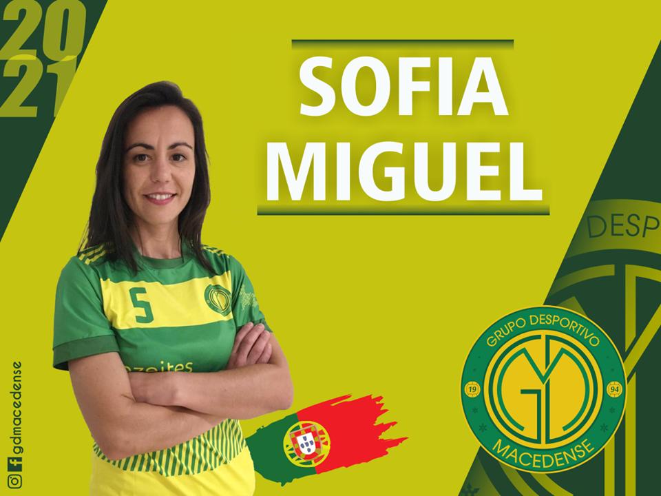 Sofia Miguel renova com o GDM e caminha para a 5ª época com o clube