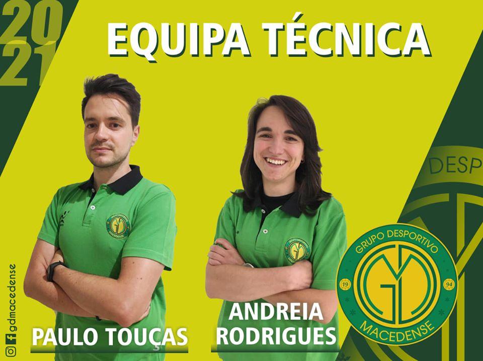 Paulo Touças mantém-se à frente da equipa sénior feminina do GDM na temporada 2020/2021