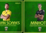 Willian Soares é reforço do Macedo para a próxima época e Ricardo Minhoto renova