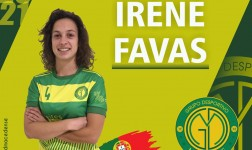Irene Favas volta a vestir as cores do GDM em 2020/2021