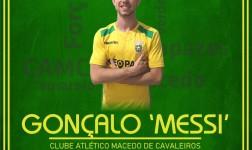 """Messi"" reforça plantel principal do CA Macedo na próxima época"