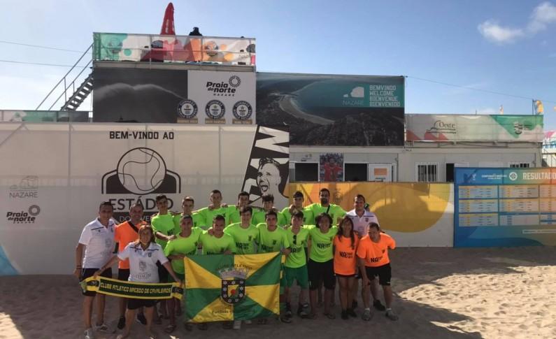 Macedo eliminado do Campeonato Nacional de Futebol de Praia