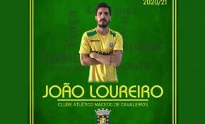 João Loureiro é reforço da equipa do CAM na época 2020/2021
