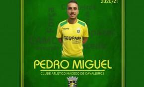 Pedro Miguel renova pelo CA Macedo por mais uma época