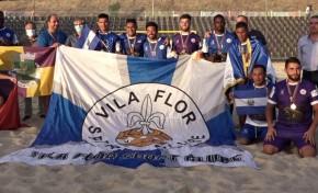 Vila Flor e CA Macedo têm presença garantida na Divisão Nacional de Futebol de Praia