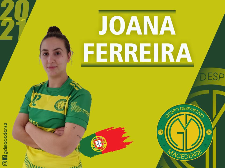 Joana Ferreira reforça plantel feminino do GDM