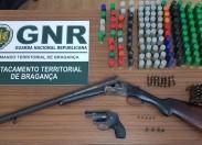 Investigação de furto de armas resulta na apreensão de diverso material no concelho de Macedo de Cavaleiros