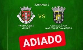 CA Macedo x FC Vinhais adiado