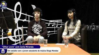 ONDA LIVRE TV – Olhar Livre com Carla Miranda à conversa com Diogo Mendes