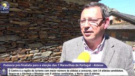 ONDA LIVRE TV – Podence pré-finalista para a eleição das 7 Maravilhas de Portugal – Aldeias