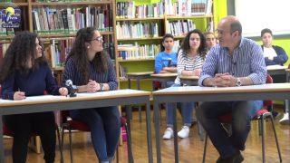 """ONDA LIVRE TV – Escola Secundária """"transformou-se"""" num estúdio de TV por um dia"""