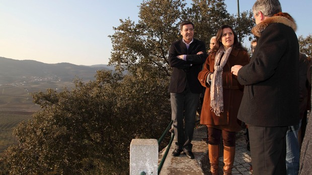 Ministra da Agricultura analisa seca no Vale da Vilariça