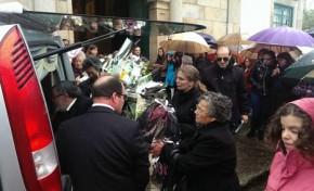 Dor e emoção na última homenagem a menina de Miranda do Douro