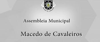 Assembleia Municipal de Macedo de Cavaleiros em DIRETO na ONDA LIVRE TV a partir das 15h