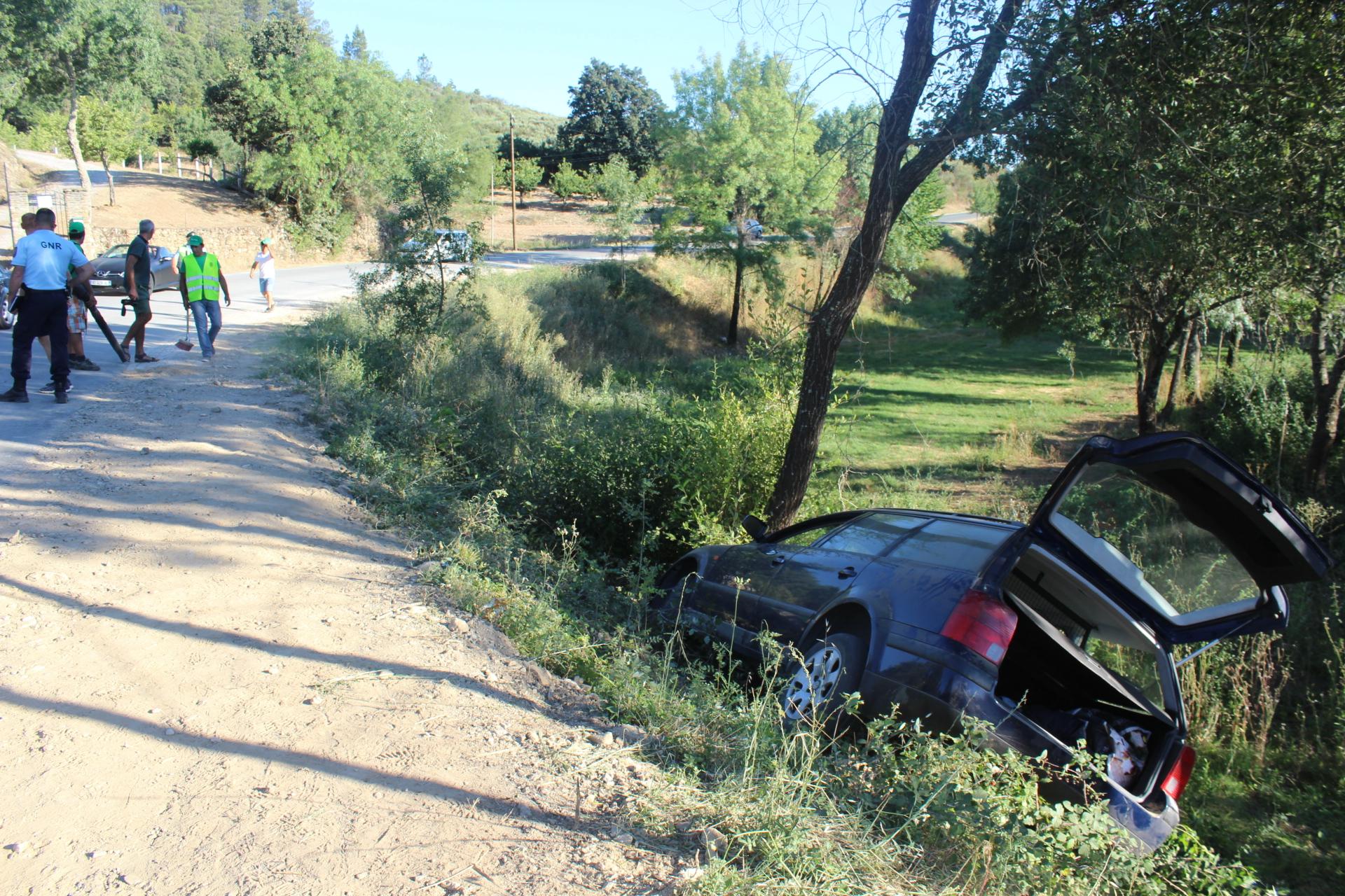 Despiste faz dois feridos esta tarde junto ao Azibo, Macedo de Cavaleiros