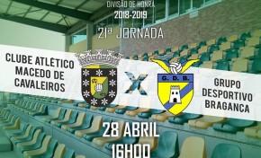 Macedo recebe este domingo o Bragança para a penúltima jornada do campeonato
