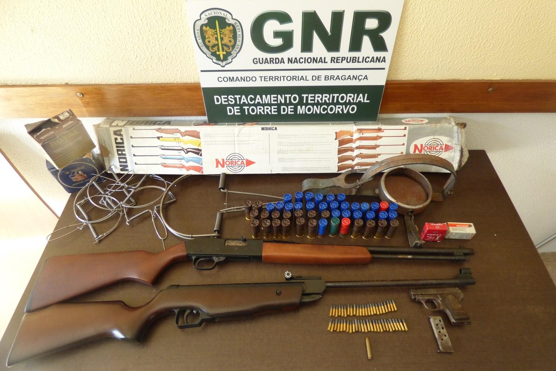 Homem detido pelo crime de violência doméstica em Torre de Moncorvo