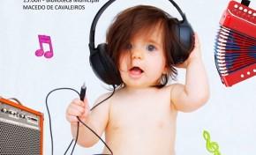 Amanhã há música para bebés e pais na Biblioteca Municipal de Macedo de Cavaleiros