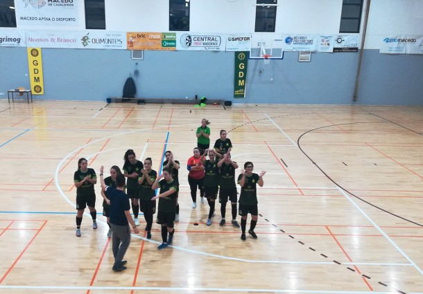Formação Feminina do GDM entra no campeonato a vencer
