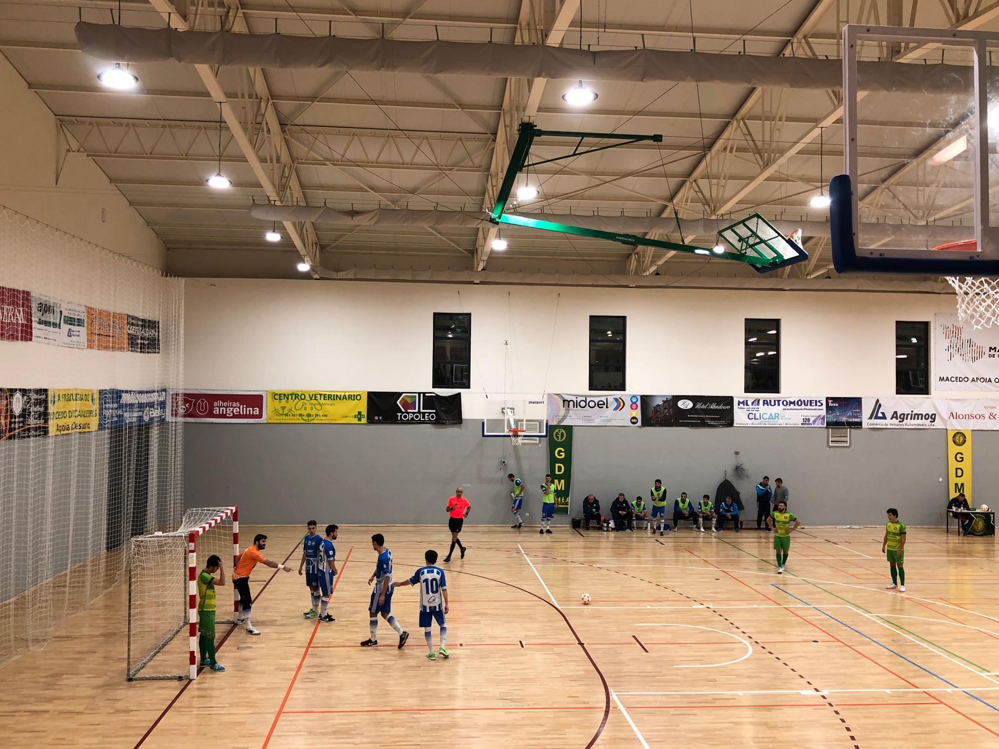 Grupo Desportivo Macedense eliminado da Taça de Portugal de Futsal