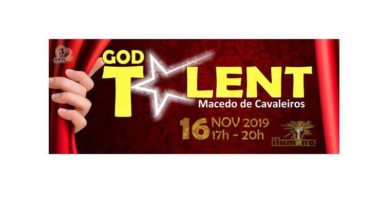"""""""GODTalent"""" revela jovens talentos amanhã em Macedo de Cavaleiros"""