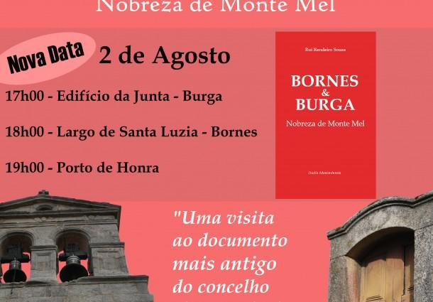 Apresentações de livros em Burga, Bornes e Grijó adiadas para o mês de agosto