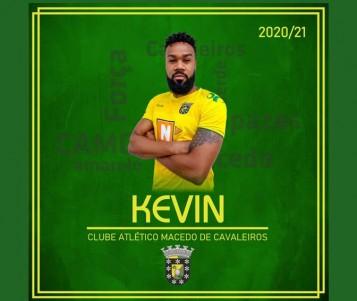 Kevin é reforço do plantel sénior do CA Macedo na próxima época