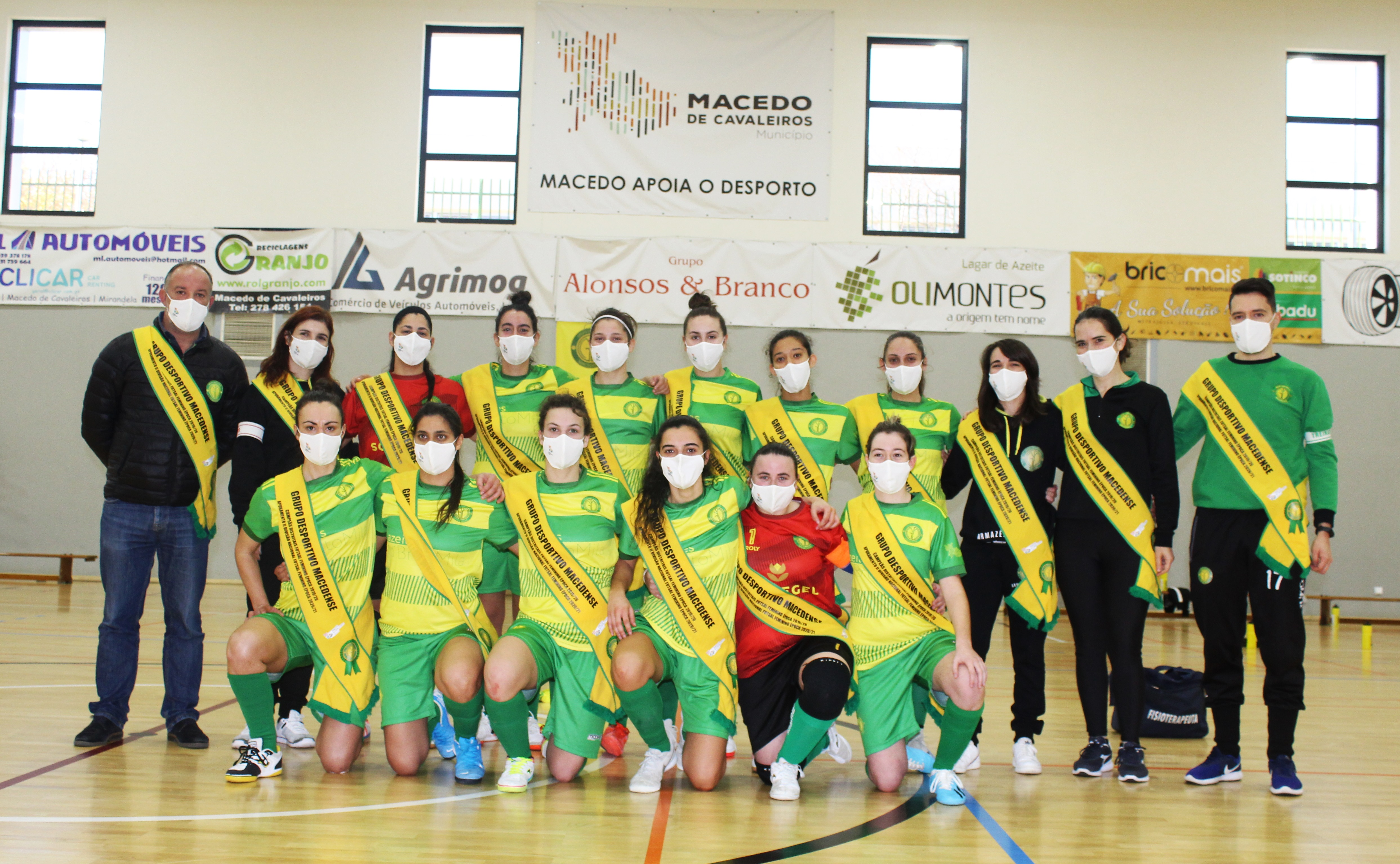 Macedense perde por 6-0 na última jornada da Taça Nacional de Futsal Feminino