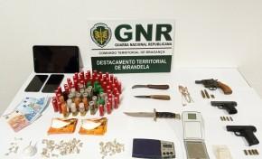 Desmantelada rede de tráfico de droga em Carrazeda de Ansiães